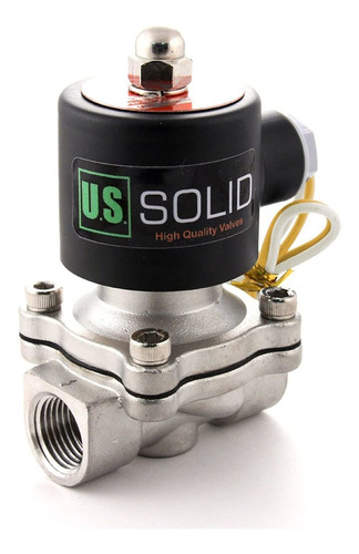 Stainless Steel Electric Solenoid Valve V Ac Normally ...