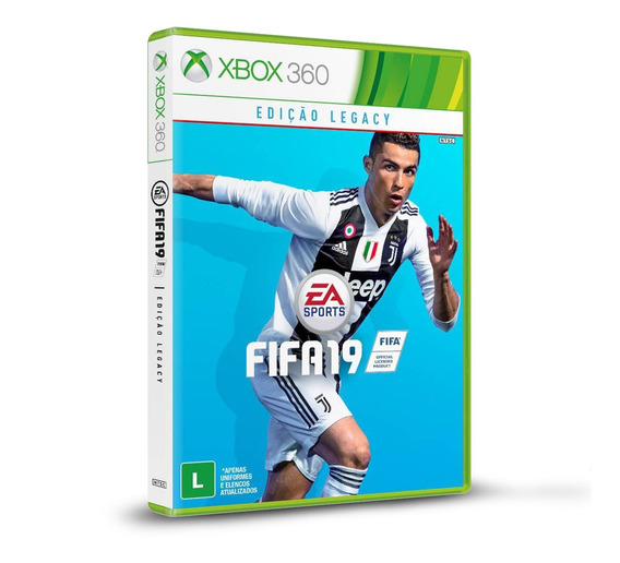 Fifa 19 - Original Para Xbox 360 Novo
