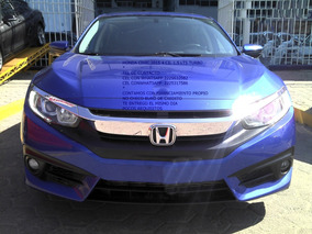 Honda Civic 1.5 Lts Turbo Exl Navi 2015 Sedan Eng $ 57,000