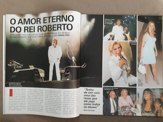 Revista Chiques E Famosos Xuxa Roberto Sandy J Nicette Bruno