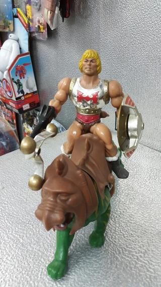 He Man + Battle Cat Vintage Somos Tienda
