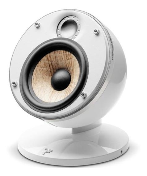 Caixa Acústica Satélite Focal Dome Flax White