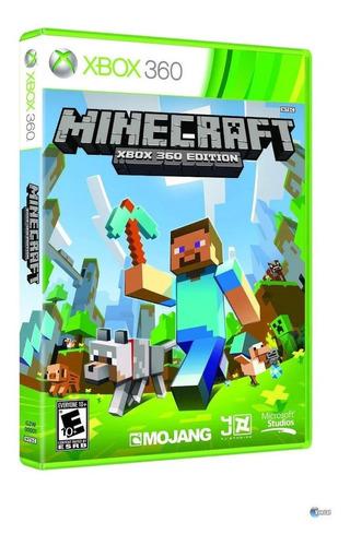 Imagem 1 de 3 de Minecraft  Standard Edition Microsoft Xbox 360  Físico