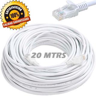 Rollo Cable Red Utp Internet Cat5 Rj45 Utp 20 Metros