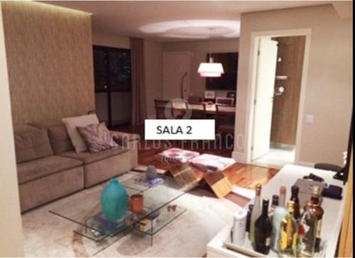 Brooklin 135m²- 3 Dormitórios 2 Vagas - Cf39501