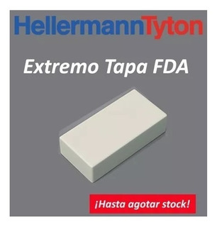 Extremo Fda Unicanal Hellermanntyton 100x50