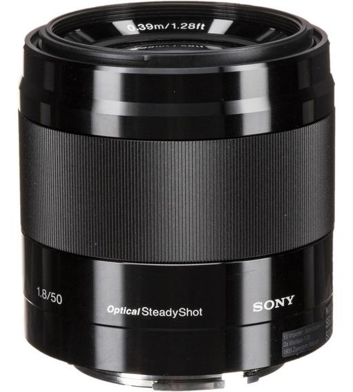 Lente Sony E 50mm F/1.8 Oss