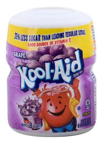 Imagen 1 de 1 de Kool Aid En Polvo Uva 538g Americano