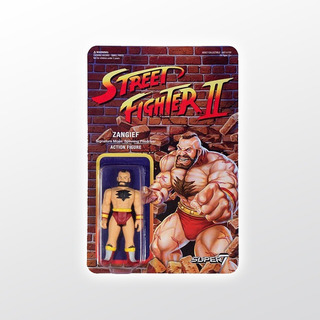 Street Fighter 2 Reaction Zangief Super 7 Tierra Prima