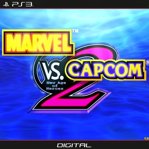 Marvel Vs Capcom 2 Ps3 Original Digital
