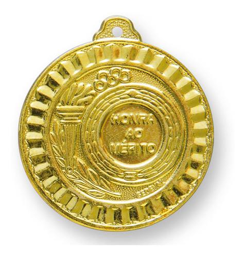 Medalha Pack 100 Peças 55mm Com Fita - Ouro/prata/bronze
