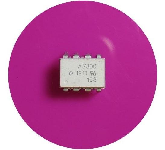 Hcpl7800 ( 2 Unidades ) Optoacoplador A7800 Dip-8