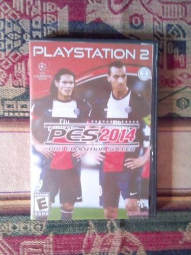 Imagen 1 de 1 de Pro Evolution Soccer 2014, Playstation 2