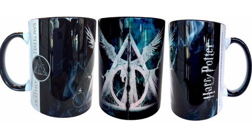 Taza Reliquias De La Muerte Harry Potter