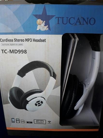 Fone Mp3 Fm Stereo Tucano Md 998