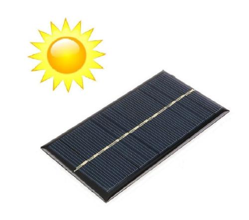 Imagen 1 de 5 de Celda Panel Solar Fotovoltaico 6v 180mah Max 200mah, 1w