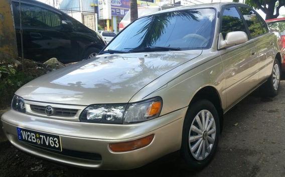 Toyota Corolla 1996 Americano Con Sistema De Gas Sano Cuidad
