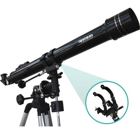 Telescópio Greika Equatorial Refrator 900x70mm Com Tripé