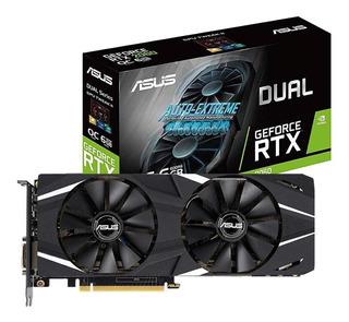 Tarjeta gráfica Nvidia Asus GeForce RTX 20 Series RTX 2060 DUAL-RTX2060-O6G OC Edition 6GB