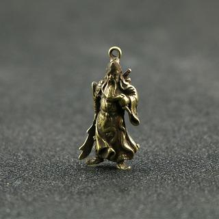Wu Cai Shen Guan Gong Puro Acessórios De Cobre Guan Yu Ping