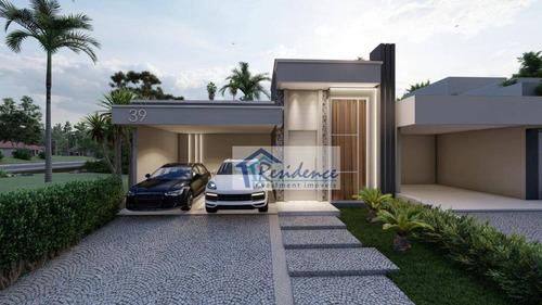 Casa Com 3 Dormitórios À Venda, 155 M² Por R$ 920.000,00 - Jardim Residencial Viena - Indaiatuba/sp - Ca0843