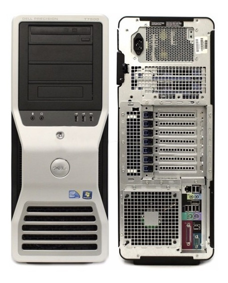 Workstation Dell Precision T7500. 2 Xeon L5630. 8 Gb Memoria