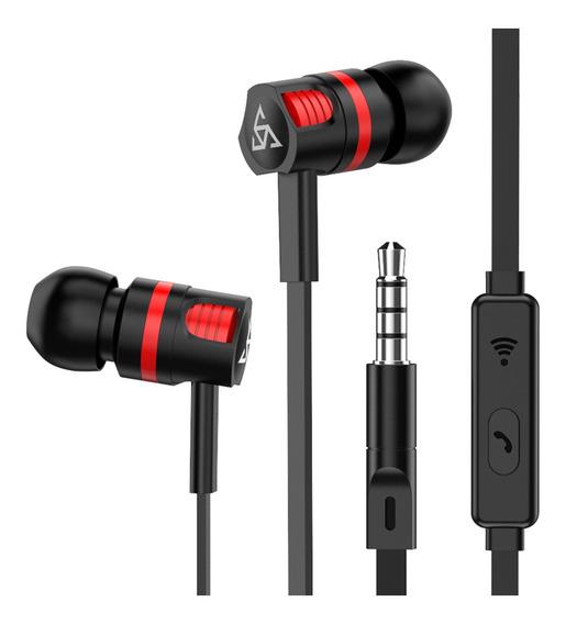 Ptm Fones De Ouvido Com Fio No Ouvido Estéreo Fone De Ouvido