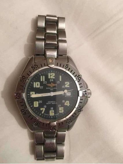 Relógio Breitling 1884 Original - Bom Estado E Funcionando 2