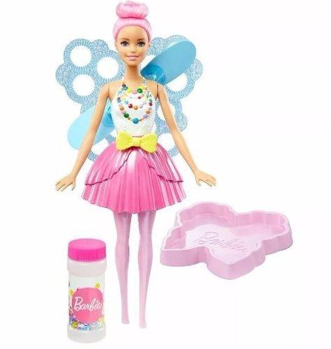 Barbie Dreamtopia Hada Burbujas Mágicas Mattel Dvm95
