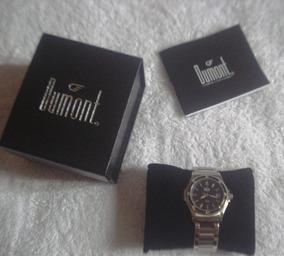 Relógio Dumont Sc25019 Novo Garantia Aço Lindo 5atm Ocasião
