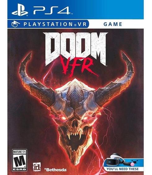 Doom Vfr Ps4 Mídia Física Novo Lacrado
