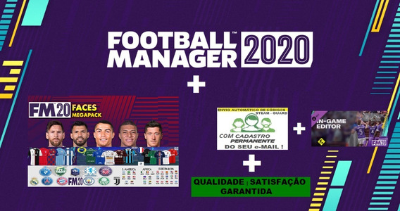 Football Manager 2020 Steam + Ingame + Pack + Cód. No Email