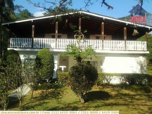 Chácara Com 8 Dormitórios À Venda, 4000 M² Por R$ 790.000,00 - Jardim Cinco Lagos - Mairiporã/sp - Ch0154