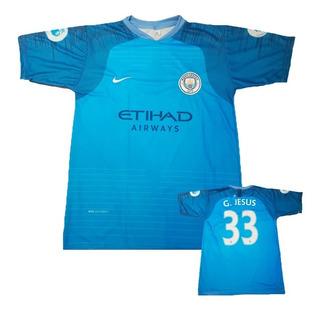 Oferta Camiseta Manchester City Gabriel Jesus 33 2019