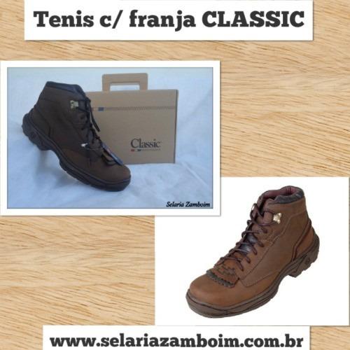 Tênis / Bota Classic - Selaria Zamboim