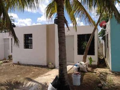 Casa Recien Remodelada De 2 Habitaciones En Villas De Oriente Kanasin