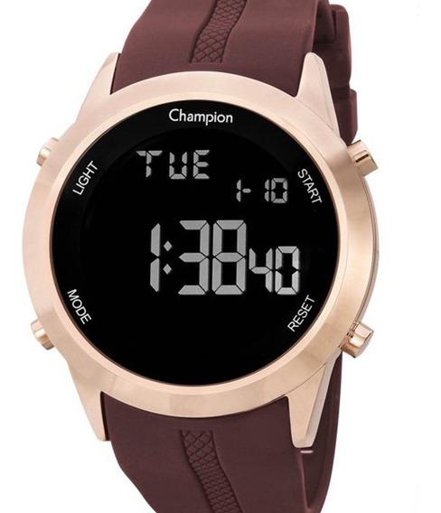 Relógio Champion Feminino Digital Ch40259z + Nf-e