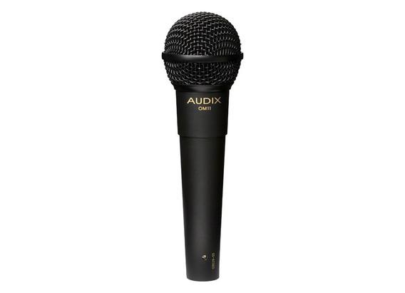 Microfone Audix Om11 - Dinâmico Para Vocais - Hipercardióde