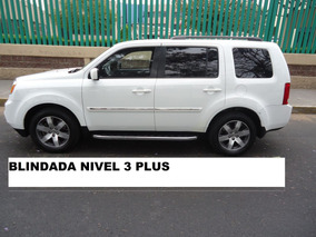 Pilot 4x4 Limited Nivel 3 Plus Blindajes Aleman 2013 (nueva)