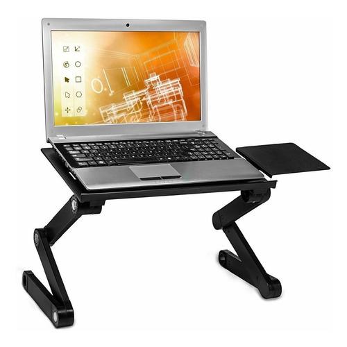 Imagen 1 de 5 de Mesa Cooler Graduable De Metal Para Laptop - Laptop Fresca