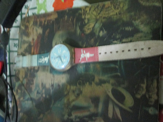 Vendo Relógio Swatch Bunnysutra Seminovo