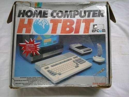 Computador Sharp Home Computer Hb 8000 Hot Bit 8000 Epcon