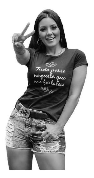 T Shirt Blusinha Feminina Atacado Revenda Kit 10 Pecas