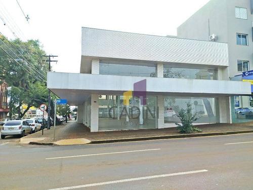 Imagem 1 de 16 de Sala Para Alugar, 400 M² Por R$ 25.000/mês - Centro - Cascavel/pr - Sa0198