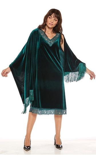 Vestido De Fiesta Marylin Velvet Mujer Mirta Armesto