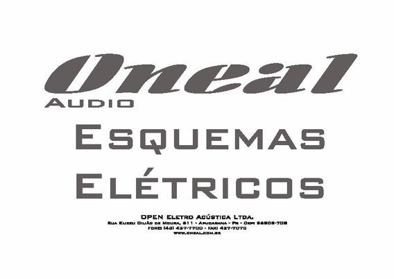 Ocm 1060bt Oneal Esquema Eletrico Diagrama