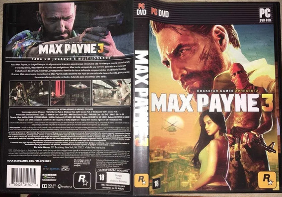 Max Payne 3 Para Pc