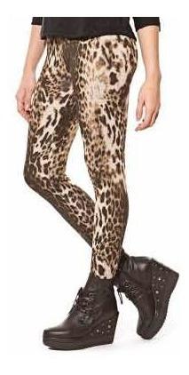 Calzas Leggins Animal Print Leopardo Ona Saez Zara Rapsodia