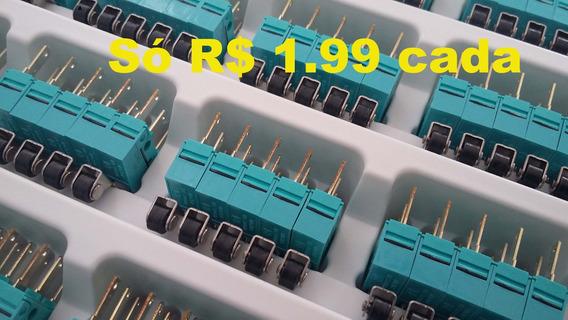 Caixa Lote 100 Micro Switch Chave Fim Curso Alavanca Haste