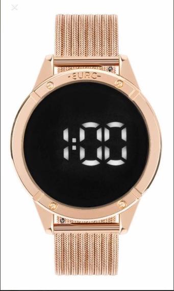 Relógio Euro Fashion Fit Touch Rose Eubj3912ab/4f